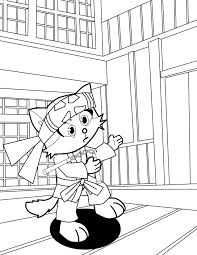 informative karate coloring pages free and print