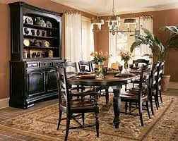 tall dining room tables. Indigo Creek Black Oval Leg Dining Room Table Set Tall Tables