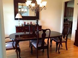 ethan allen cooper round table rectangular dining table large ethan allen