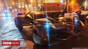Moscow police seize <b>custom</b> 'Batmobile' - BBC News
