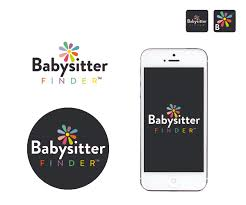 Babysitter Logo Professional Serious Modern Art Logo Design For Babysitter Finder