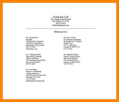 Professional References List Template References template word 100 professional reference list full 17