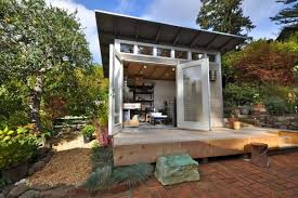 prefab office shed. Prefab Office Pods: 14 Studios \u0026amp;amp; Workspaces Made For Your Backyard Regarding Shed