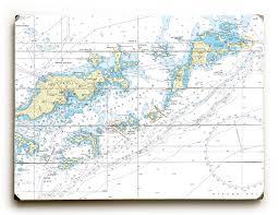 Bvi Navigation Charts Bvi Tortola Virgin Gorda Bvi Nautical Chart Sign