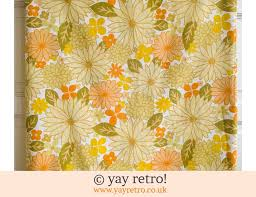 vintage yellow flowery single duvet cover 21 50