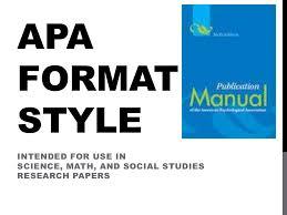 Apa Format Style Power Point By Dhohnhol Via Slideshare
