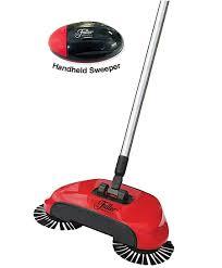 carpet sweeper. 8 roto sweep by fuller brush, original hard floor sweeper \u0026 handheld bundle carpet