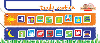 Daily Routine Chart Help Your Family Get Organised