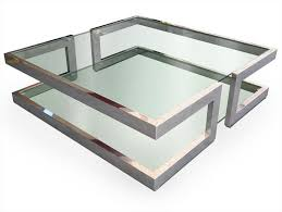 Square Glass Coffee Table Lisa Collection By Gonzalo De Salas Images
