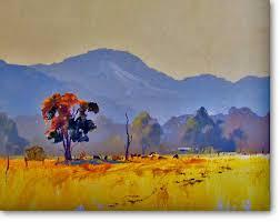 Dusty Burrundulla - Ross Kurtz, Acrylic Paintings by Australian ...