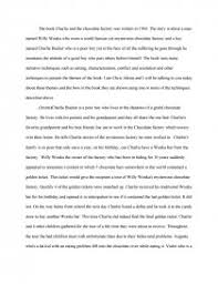 charlie and the chocolate factory speech essay zoom