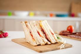 Club Sandwich With White Bread Stock Photo By Dcstudio Photodune