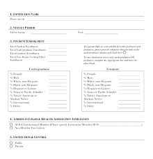 Market Research Survey Template Word Outline Marketing Plan 6