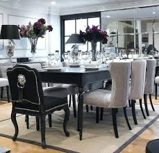 black dining table extending black dining table 8 chairs special offer black gloss dining table and