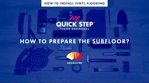how to prepare the suloor for your vinyl floor tutorial by quick step