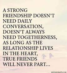 Quotes About Friendships And Distance