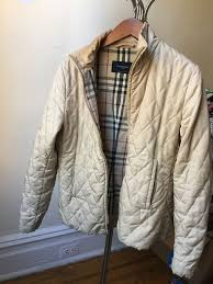 Burberry London Women's Down Quilted Jacket Coat Womens Nova Check ... & Burberry London Women's Down Quilted Jacket Coat Womens Nova Check Size M Adamdwight.com