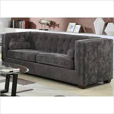 Grey Leather Chesterfield Sofa Bed Corner Next 10764 Gallery Fabric Chesterfield Sofas Uk