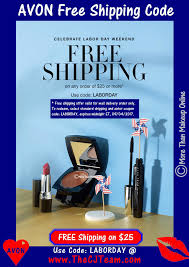 Labor Day Free Online Avon Labor Day Free Shipping Coupon More Than Makeup Online