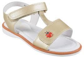 <b>Туфли</b> открытые золотые <b>BETSY Princess</b> - Glami.ru