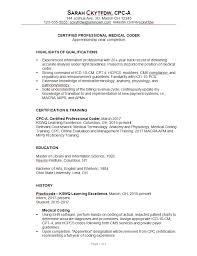 Resume It Professional Susanireland Resume 2019 Format 209464 Resume Sample For A Medical Coder