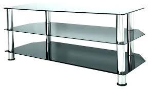 target glass tv stand stands corner mid century modern mirror