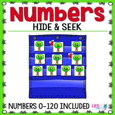 Apple Tree Pocket Chart Numbers 0 120 Hide Seek Pocket Chart Cards Apple Tree Theme