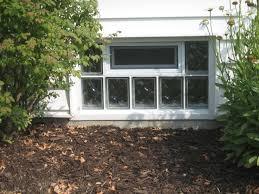 how to choose the right basement window glass block basement windows