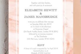 Marble Wedding Invitations Hitched Co Uk