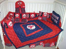 new crib nursery bedding m w boston red