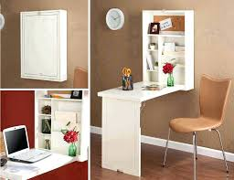 fold down desk space saving away wall mounted