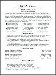 Assistant Property Manager Resume Sample Property Management Resume