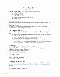 Free Elementary Teacher Resume Templates And Resume Examples For