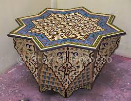 Image Stencils Pr Web Moroccan Inspired Coffee Table