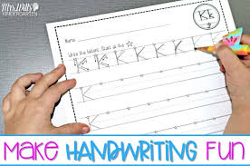 Handwritting Practice Fun And Easy Handwriting Practice And Instruction