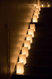 creative decor diy lighting wedding full size. simple wedding decor using tea lights u0026 paper bags to line the stairs creating a gorgeous creative diy lighting full size