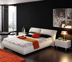 Modern Bedroom Colors Awesome Mens Bedroom Ideas Applying Black And White Interior Theme