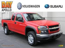 2007 Chevrolet Colorado LT Extended Cab 4x4 in Victory Red ...