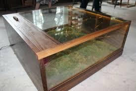 shadowbox table coffee table brass coffee table baseball display case antique coffee table shadow box coffee