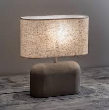 Concrete Bullet Table Lamp