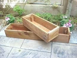 planter box design ideas wood boxes for indoor or outdoor garden house small wooden planters square uk