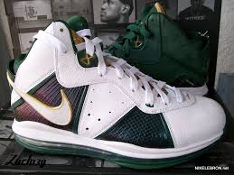 lebron 8 v1. nike lebron 8 v1 svsm home player exclusive new images lebron