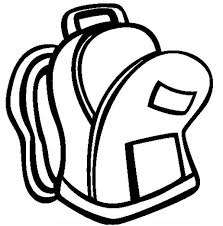 Small Picture Image Gallery of Empty Backpack Clipart