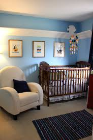 lovely baby room ideas. kids room blue wall themes with picture frame combined by brown wooden cradle and white lovely baby ideas r