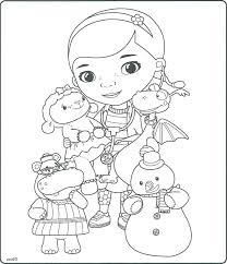 Doc Mcstuffins Colouring Pictures To Print Doc Coloring Pages To