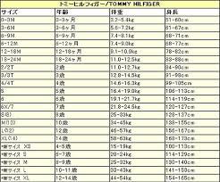 Tommy Hilfiger Plus Size Chart Tommy Hilfiger Usa Size Chart Q House Pl