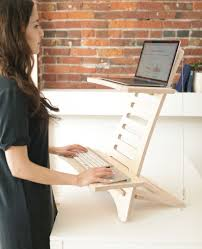 simple adjule portable standing desks that transform the way you work