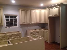 Heritage Antique White Cabinets