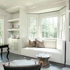 Window Seat in Bay Window