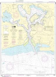 Noaa Nautical Chart 19366 Pearl Harbor Oahu South Coast